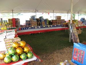 Firework tent in Scottsdale AZ & Fireworks for sale in Phoenix Queen Creek Scottsdale AZ