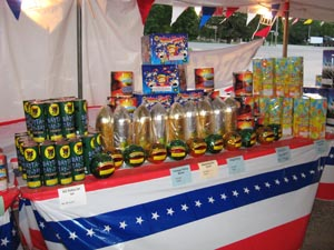 Family fireworks for sale in Arizona