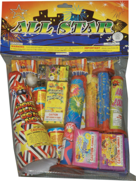 Assortment - All Star Bag - $10.00