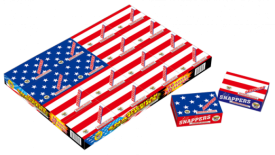 Novelties - American Flag Snappers 16 boxes 50pc - $10.00