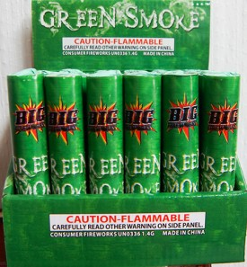 Smoke - Green Tube - $1.79