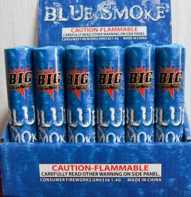 Smoke - Blue Tube - $1.79